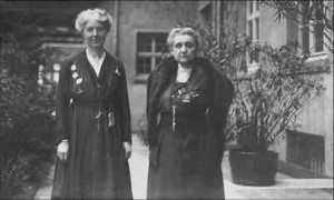 Chrystal Macmillan and Jane Addams