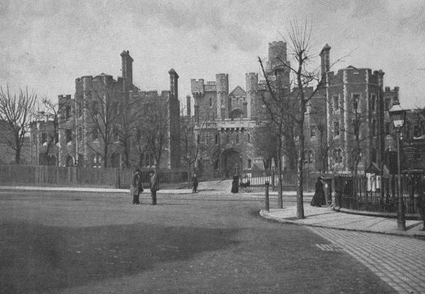 Holloway Prison, London, c.1896.
