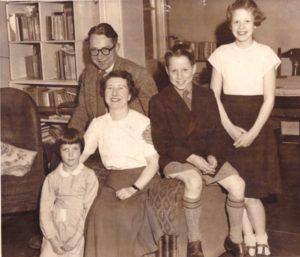 Celia Wells - Family Portrait 1957