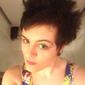 Nina green eyeshadow