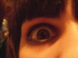 Nina's eye