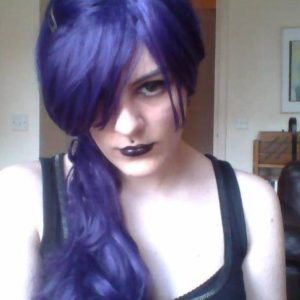 nina purple hair