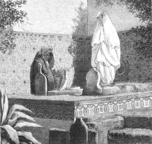 Veiled women Algeria