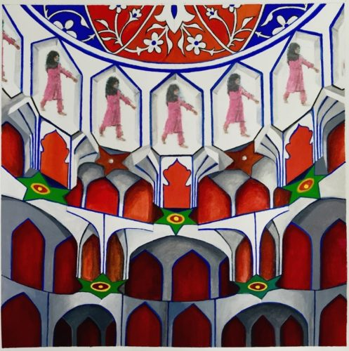 Women Islamic Art