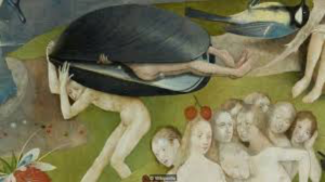 Detail from Hieronymus Bosch, The Garden of Earthly Delights, Prado Madrid (c. 1490-1510).